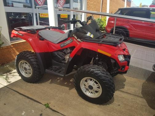 2012 BRP OUTLANDER 500 500CC MY11 ATV